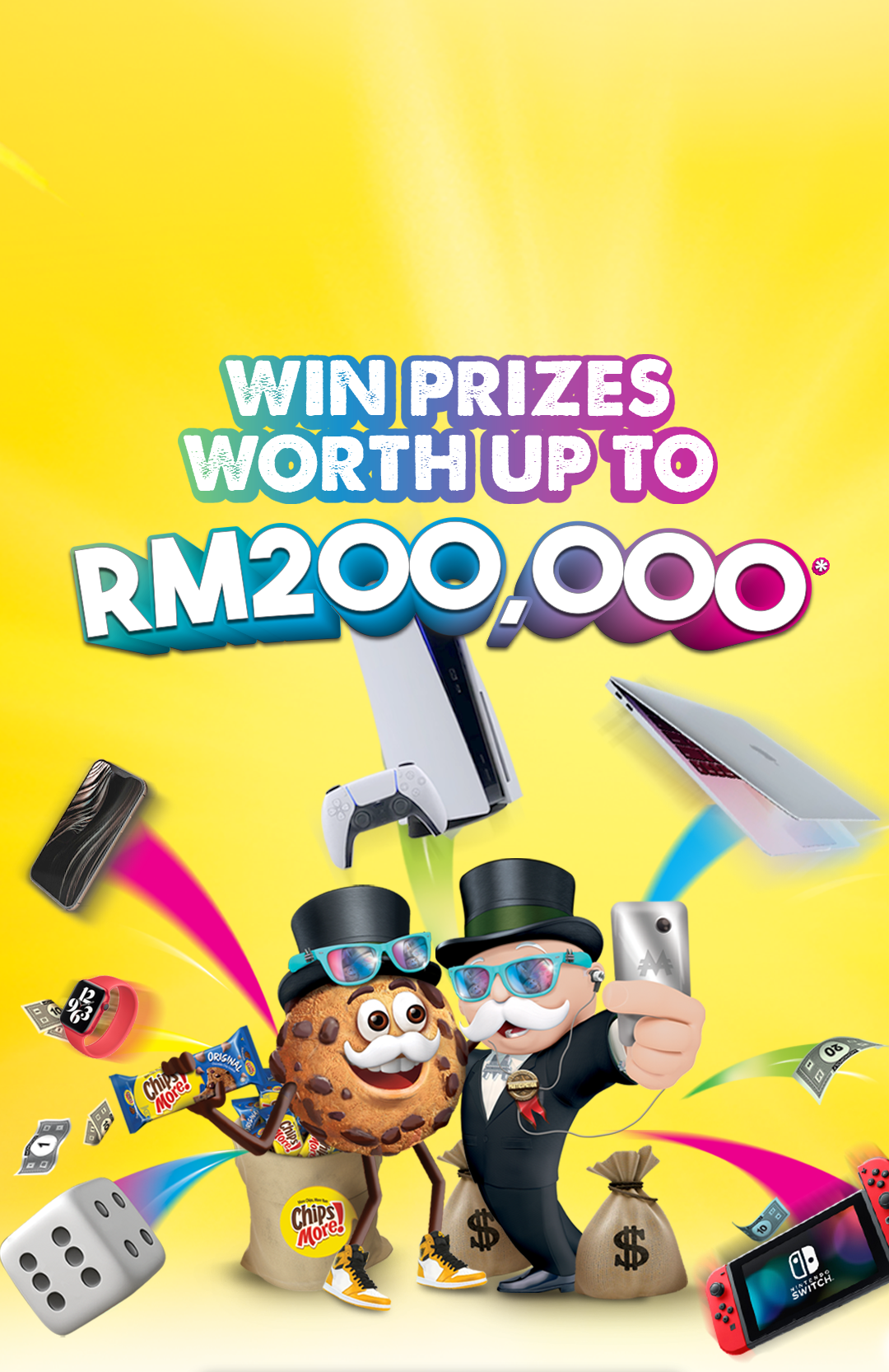 Win Prizes worth up to RM200,000